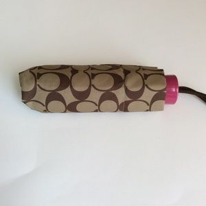 Coach Signature Mini Umbrella